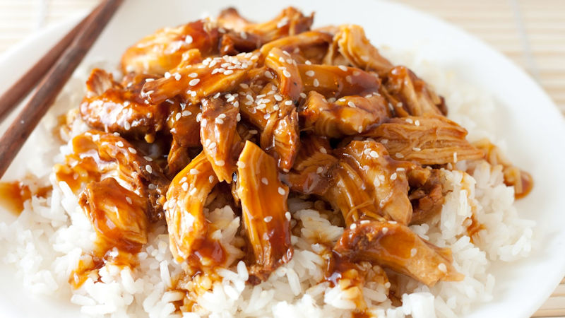 Teriyaki Sauce Chicken