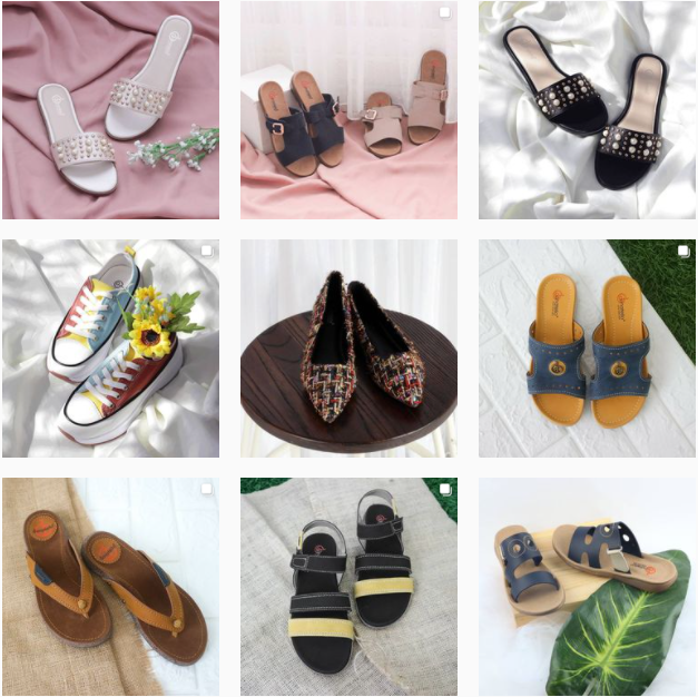 Indonesian Local Shoes For Women
