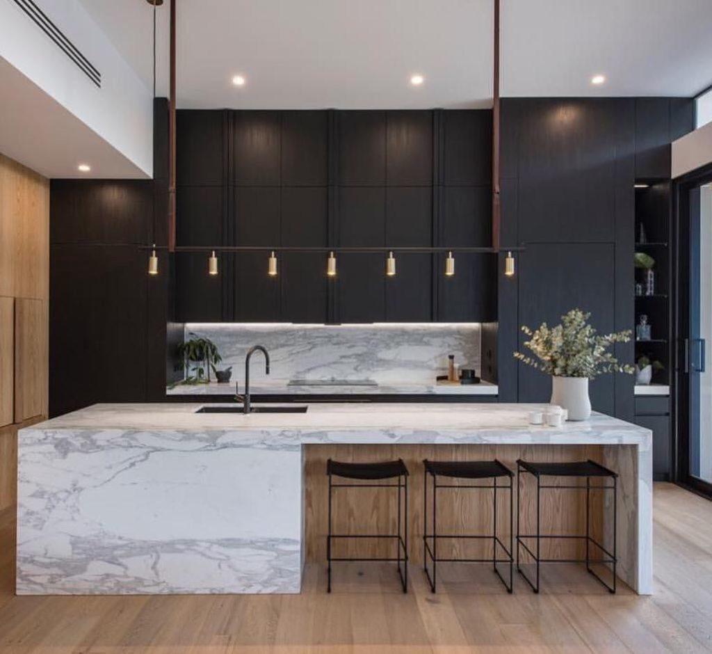 inspirasi dapur minimalis mewah