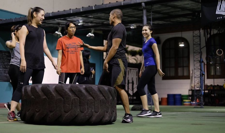 biaya olahraga di jakarta: fasilitas gym