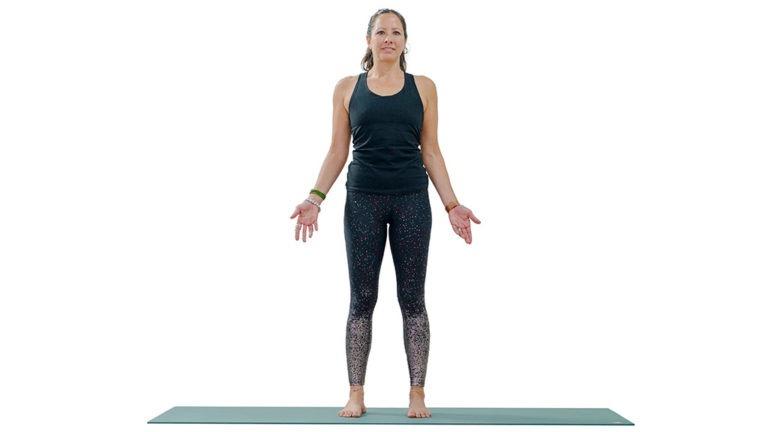 mountain pose yoga