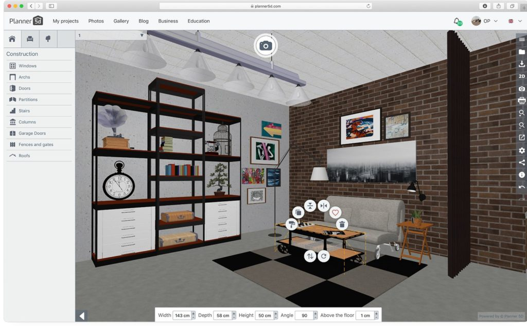 House Design Apps: Planner 5d