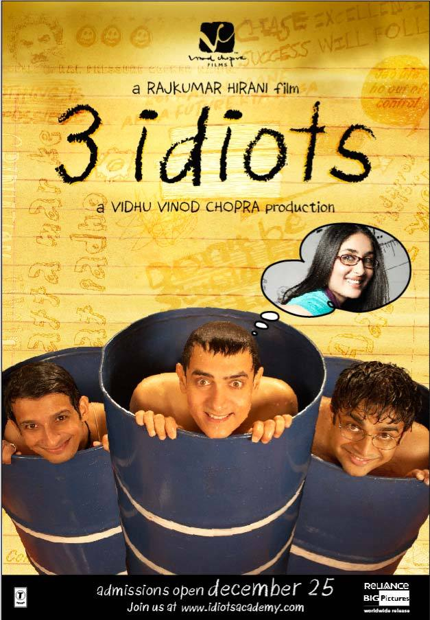 Three Idiots is a movie from India