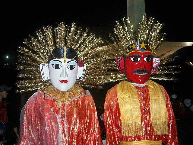 Ondel-ondel khas Jakarta