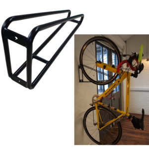 Vertical bike hanger is a great solution to save up space