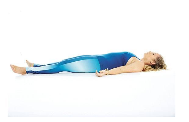 gerakan yoga corpse pose