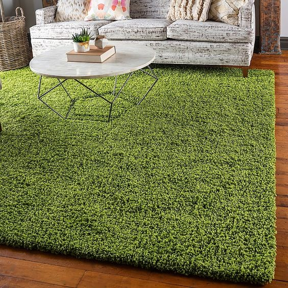12 Cara Menggunakan Karpet Rumput Untuk Dekorasi Rumah