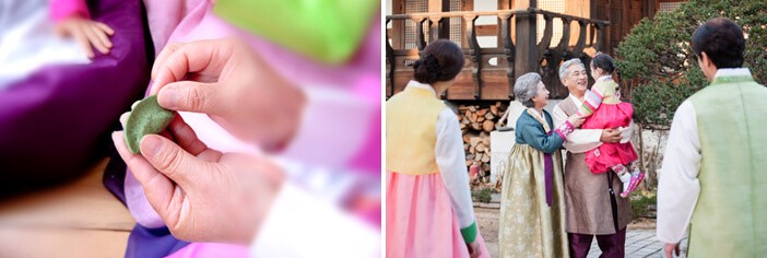 The tradition of family gathering during Chuseok
