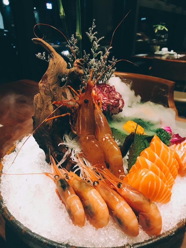 seafood sebagai pengganti kue ultah