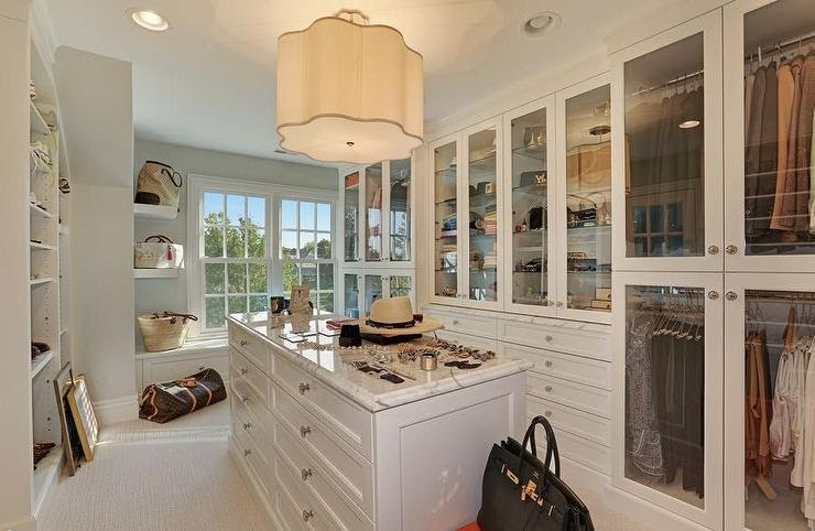 display cabinets for walk-in closet