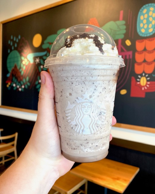 Cookies and Creme Frappuccino