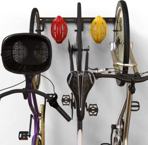 Hanging multiple bikes at once is now possible using this hanger