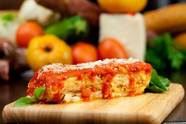 lasagna sebagai kue ultah