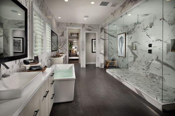 20 Inspirasi Desain Kamar Mandi Mewah Untuk Rumah Anda
