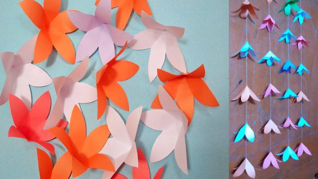curtains origami