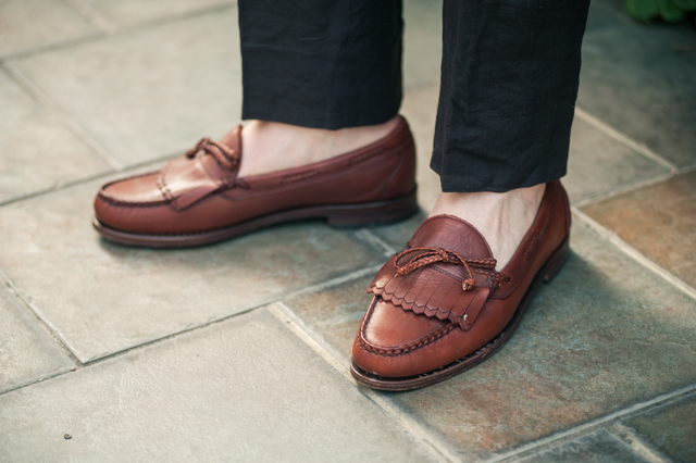Moccasin is the type of men's shoe that you need