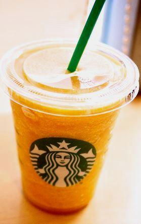 Orange Creamsicle Frappuccino