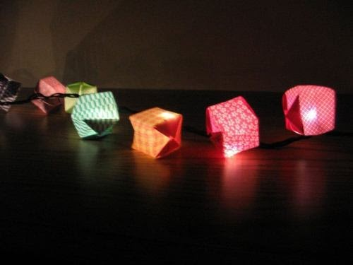 tumblr lights origami creation