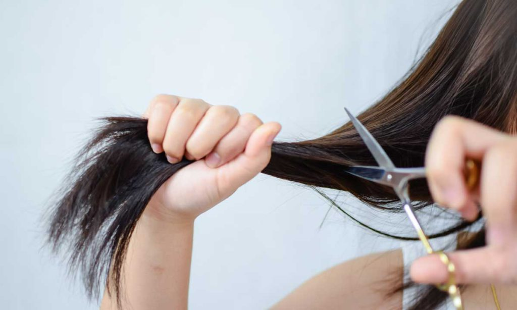 cut your own hair at home, wet cut or dry cut?