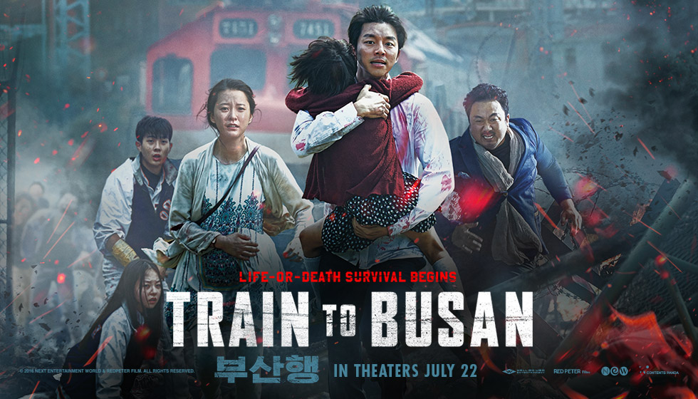 Train to Busan is a must watch movie about zombie apocalypse from South Korea