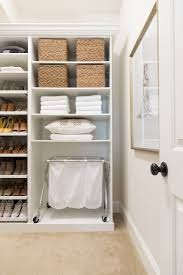 baskets used for walk-in closet