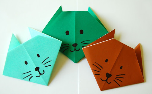cats origami creation