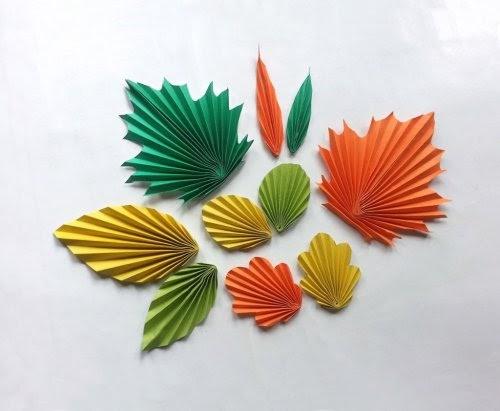 wall origami creation