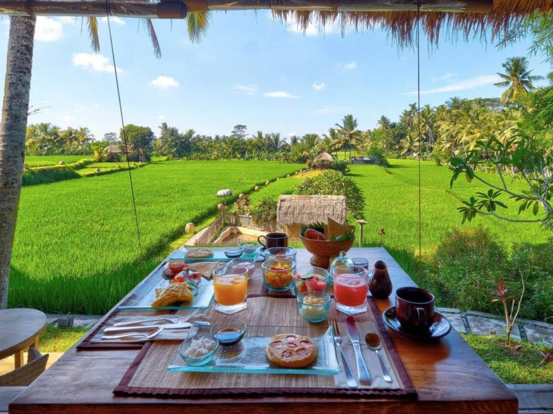10 Restoran di Ubud dengan Suasana Alam Terbaik