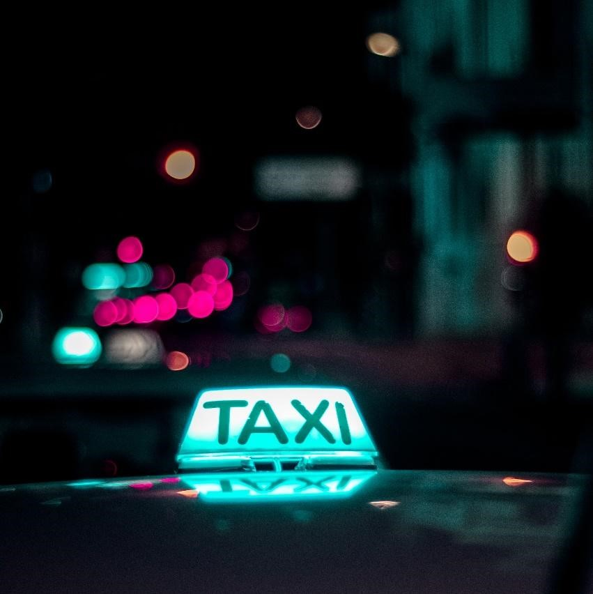 ilustrasi taxi