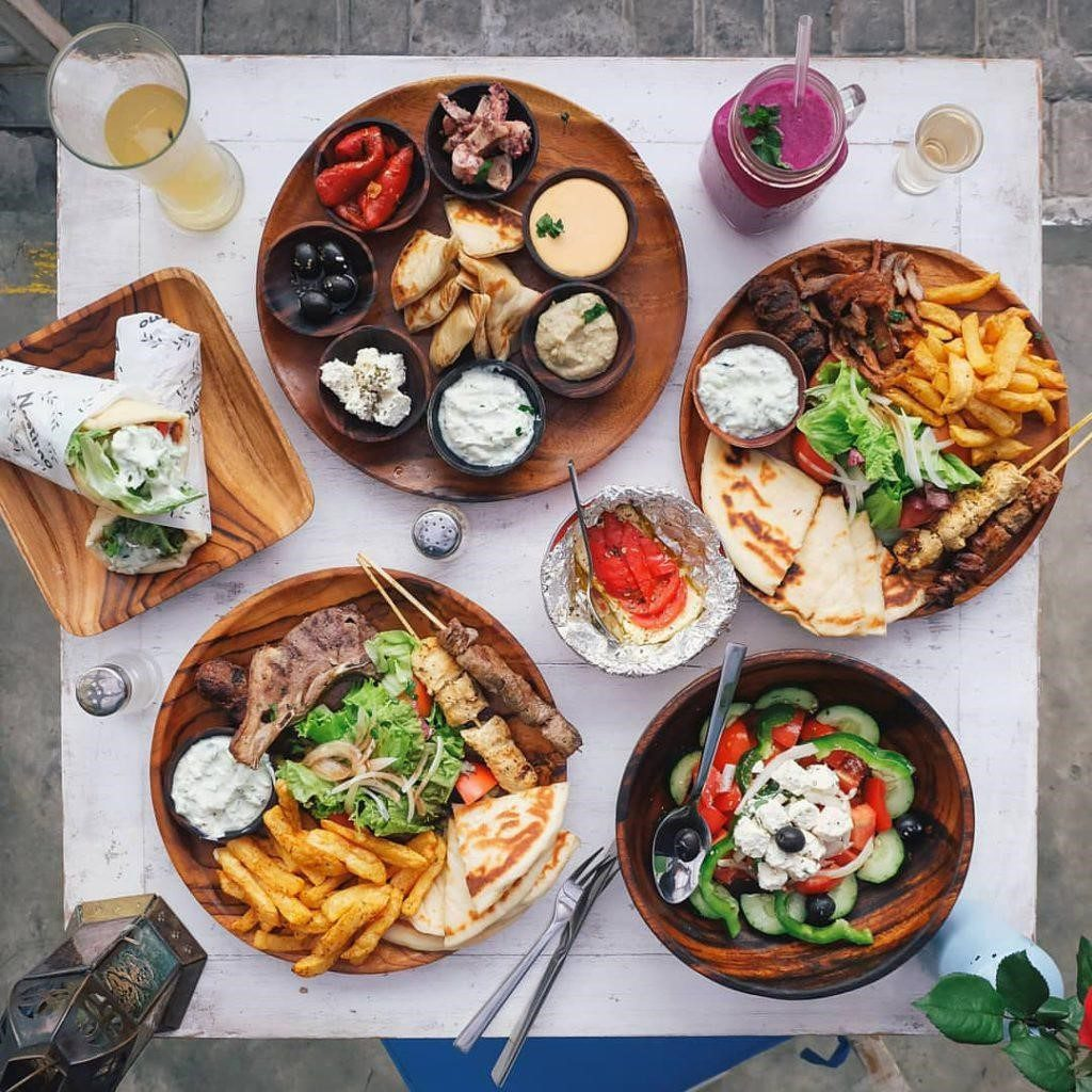 nostimo greek restaurant bali