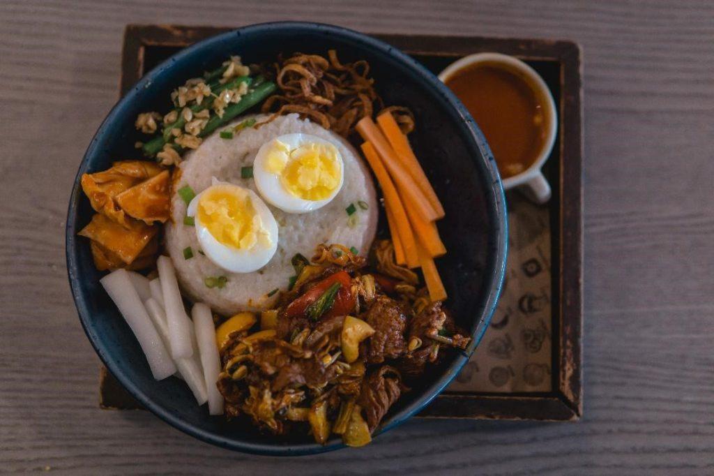 bibimbap korean restaurant bali