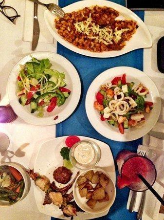 mykonos greek restaurant bali