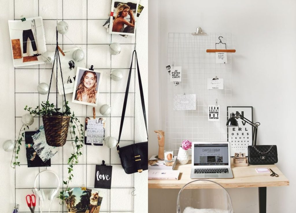 mesh board to make your room aesthetic