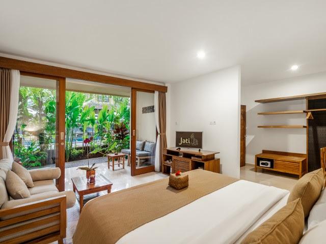 Bedroom in Jati Cottage