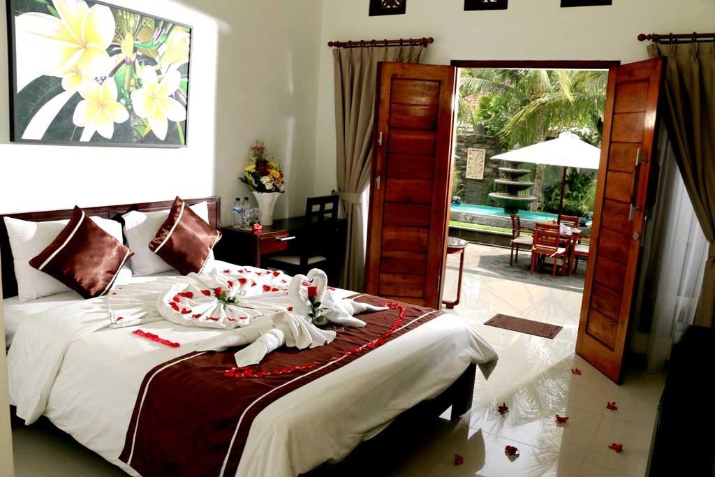 bedroom facilities in Kubu Garden Guest House