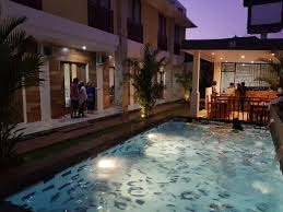 outdoor pool at Praba Guest House