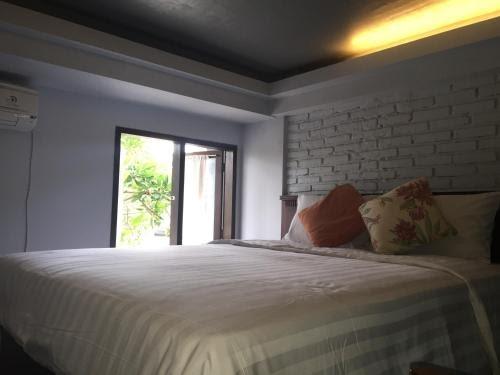 bedroom in Palm Loft Bali
