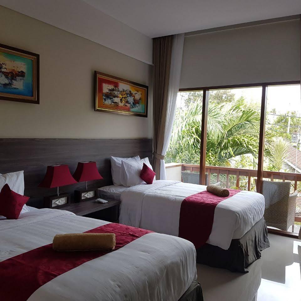 bedroom in Puri Kesari Guest House, Sanur