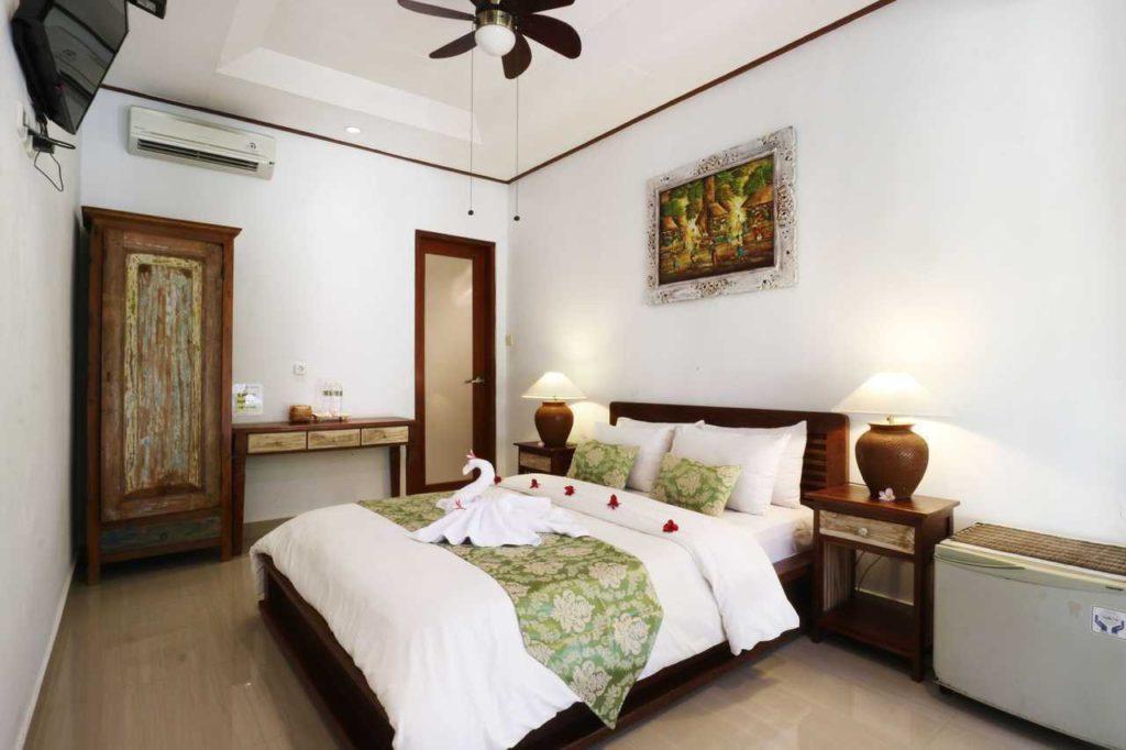 bedroom in Wayan Homestay Sanur