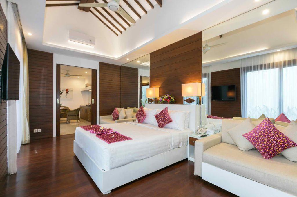 bedroom in Anari Villas Kuta
