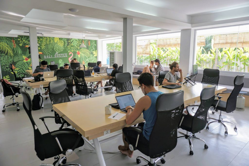 bali bustle co-working space
