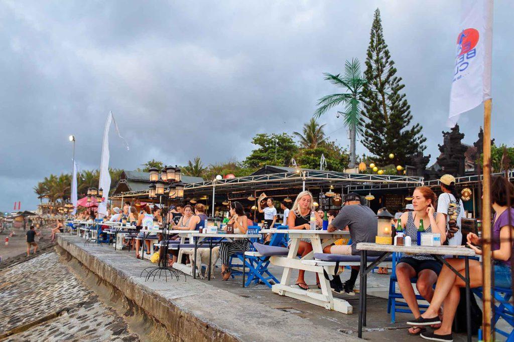 Echo Beach Bar and Grill in Canggu Bali