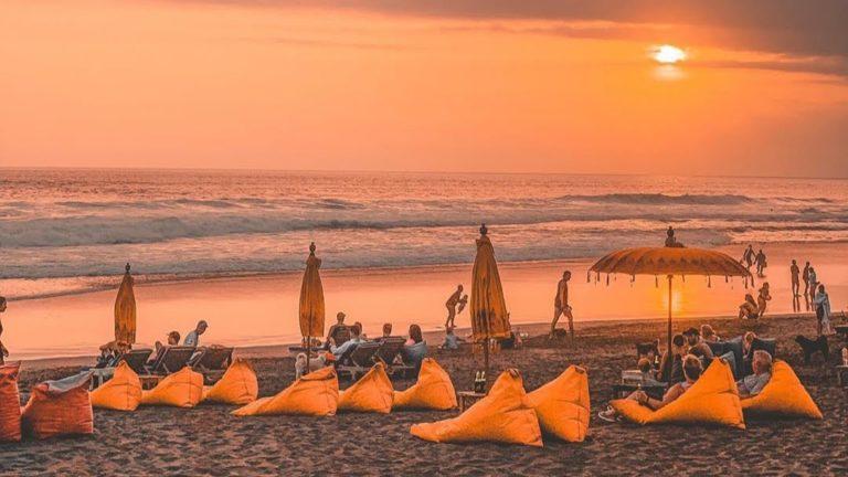 Echo beach in Canggu Bali