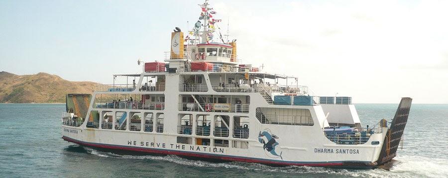 pergi dari bali ke lombok dengan kapal feri
