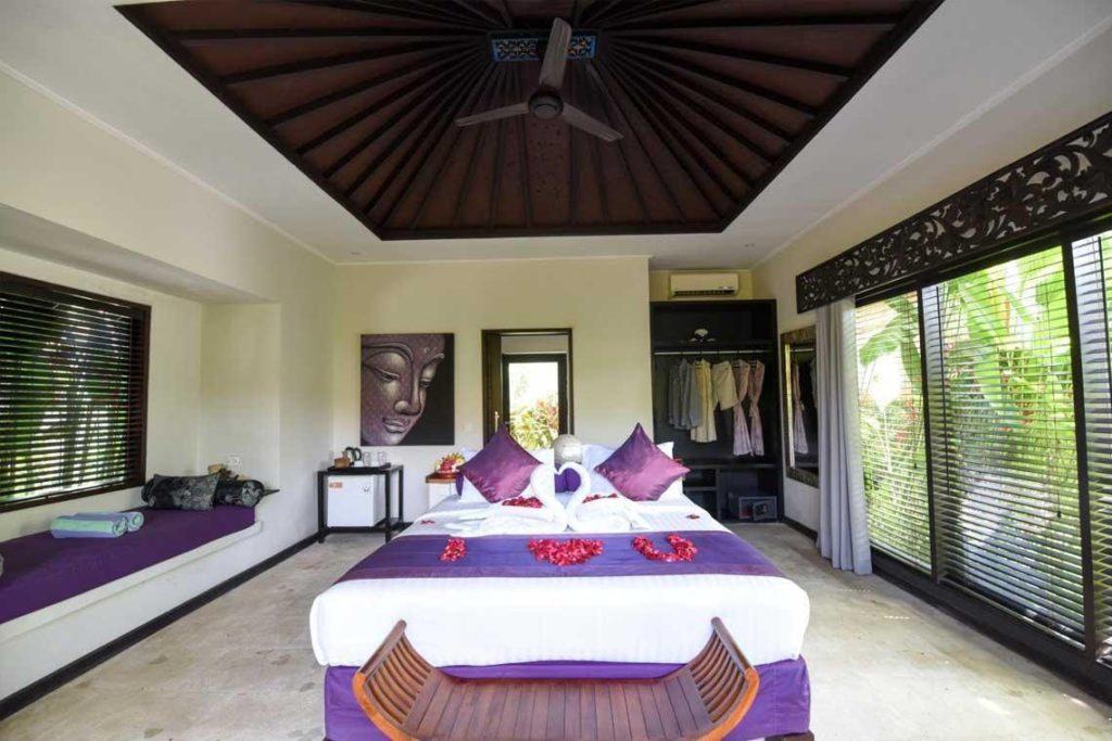 bedroom in Katala Villas Sanur