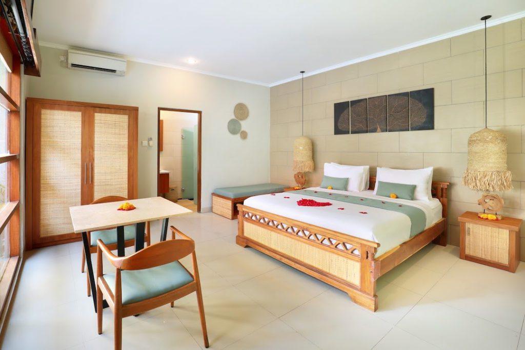 bedroom in The Vie Villa Legian