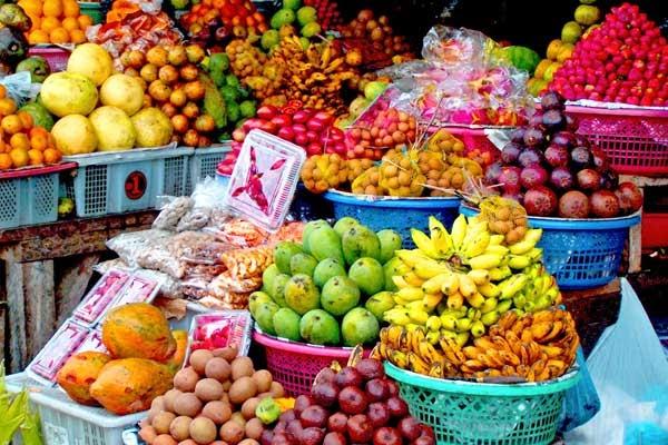 candi kuning traditional markets