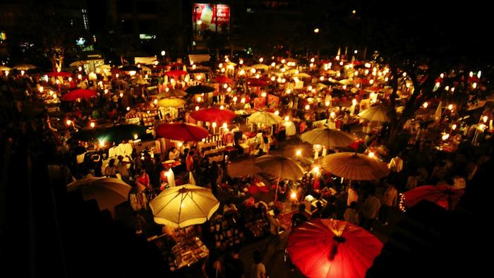 night markets bali