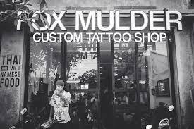fox mulder tattoo studio in bali