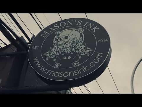 Mason's Ink tattoo studio in Bali